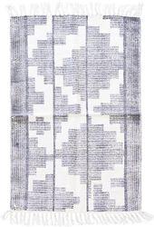 Vloerkleed  Eve - zwart/wit - 60x90 cm  - House Doctor